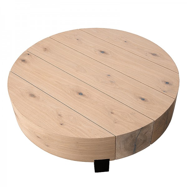 Charrell - COFFEE TABLE ASRA - 100 x 100 H 30 CM (image 3)