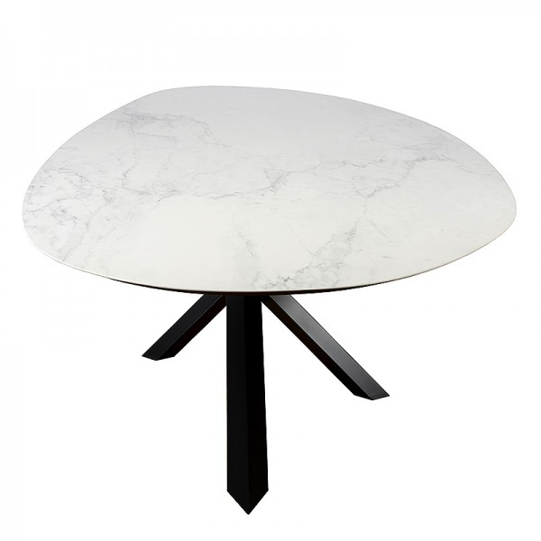 Charrell - DINING TABLE MADRID - 290/140 - CER 75 MAT - 290 X 140 H 75 CM (image 3)