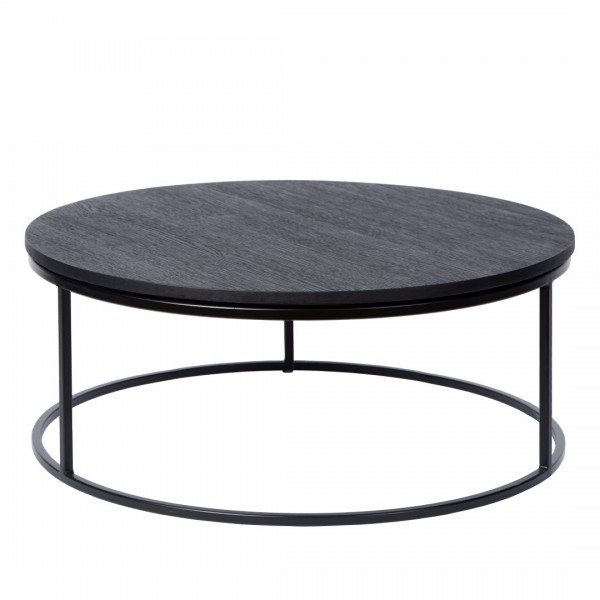 Charrell - COFFEE TABLE TODD - SINGLE - DIA 80 - H 35 CM (image 1)