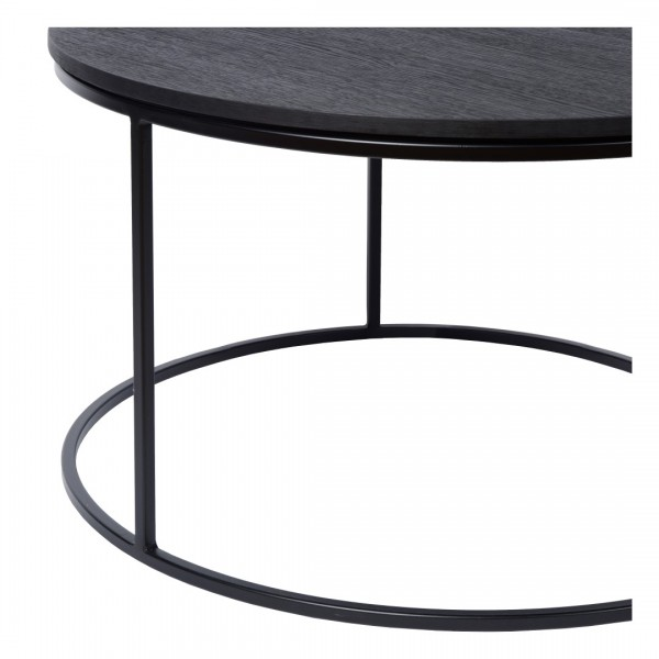 Charrell - COFFEE TABLE TODD - SINGLE - DIA 80 - H 35 CM (image 2)