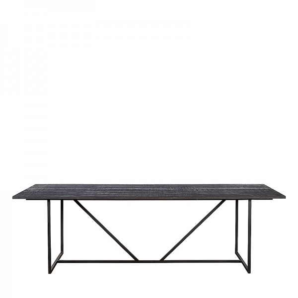 Charrell - DINING TABLE ZILTON 180/90 - 180 X 90 - H 76 CM (image 1)