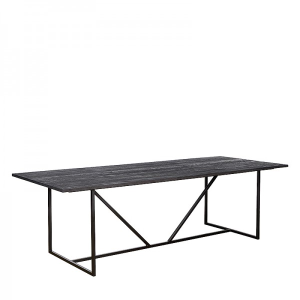 Charrell - DINING TABLE ZILTON 180/90 - 180 X 90 - H 76 CM (image 2)