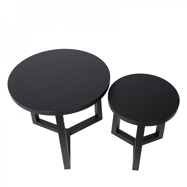 Charrell - SIDE TABLE CLOUD S/2 - 60/40 X 60/40 H 53/46 CM (image 3)