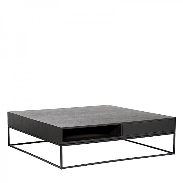 Charrell - COFFEE TABLE FLINN 130/130 - 2DR/OPEN - 130 X 130 H 38 CM (image 2)