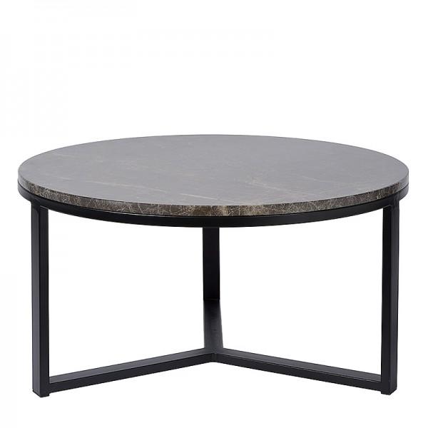 Charrell - SIDE TABLE SPLENDID-MARBLE TOP DIA 80 - DIA 80 H 42 CM (image 1)