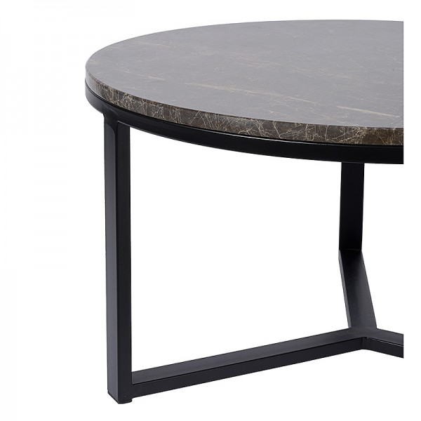 Charrell - SIDE TABLE SPLENDID-MARBLE TOP DIA 80 - DIA 80 H 42 CM (image 3)
