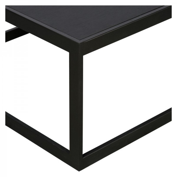 Charrell - COFFEE TABLE HYATT 80/80 - WOOD - 80 X 80 - H 40 CM (image 3)
