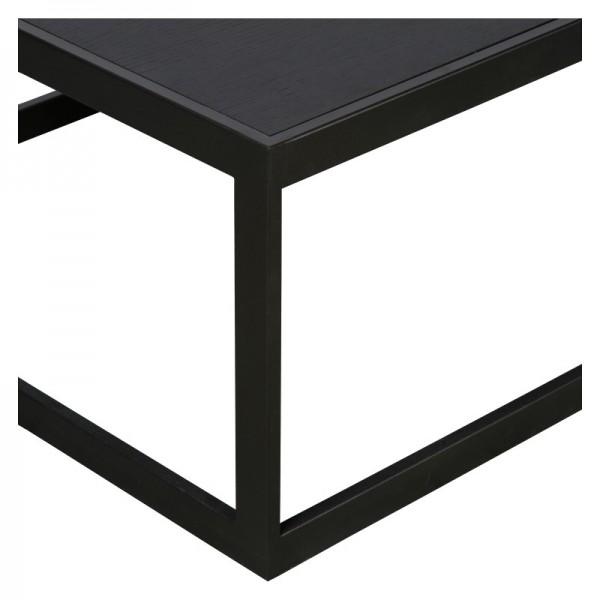 Charrell - COFFEE TABLE HYATT 140/70 - WOOD - 140 X 70 - H 40 CM (image 3)