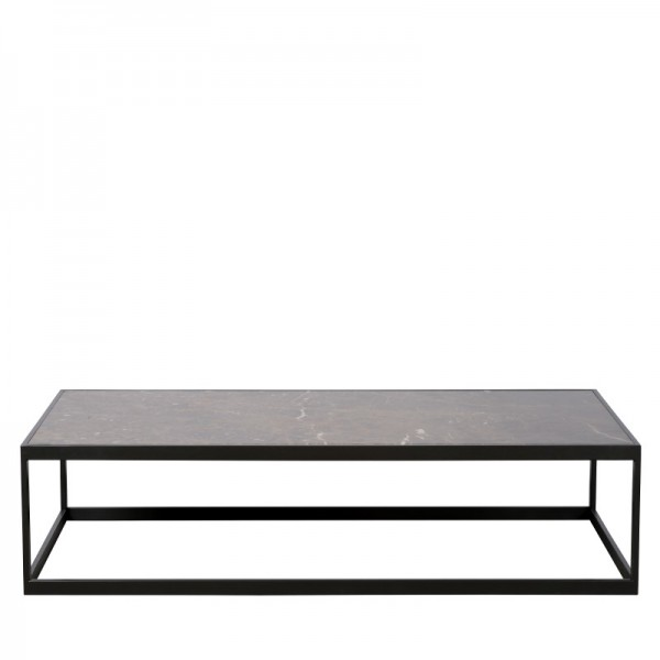 Charrell - COFFEE TABLE HYATT 140/70 - MARBLE - 140 X 70 - H 40 CM (image 1)