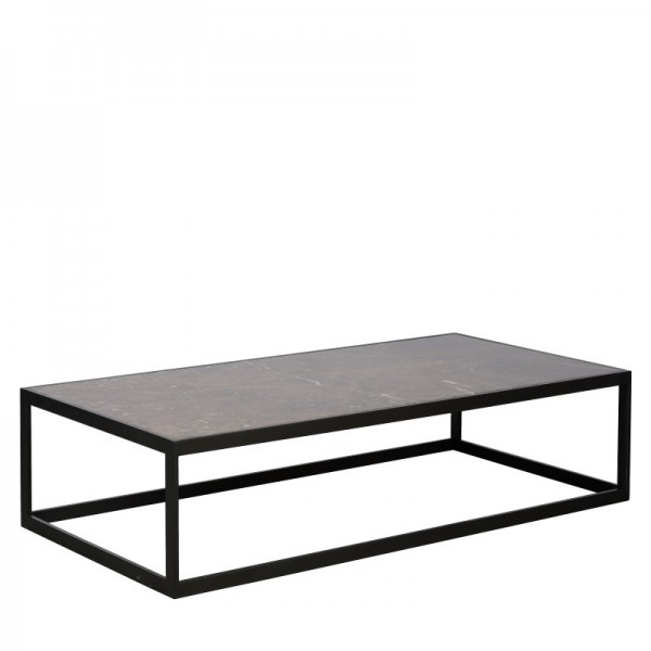Charrell - COFFEE TABLE HYATT 140/70 - MARBLE - 140 X 70 - H 40 CM (image 2)