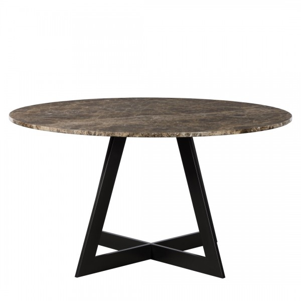 Charrell - DINING TABLE LISA DIA 140 - MARBLE - DIA 140 - H 76 CM (image 1)