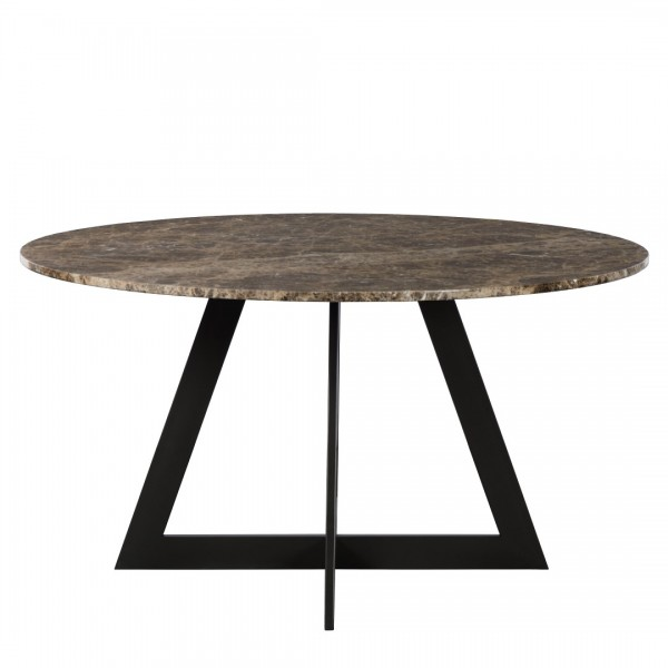 Charrell - DINING TABLE LISA DIA 140 - MARBLE - DIA 140 - H 76 CM (image 2)