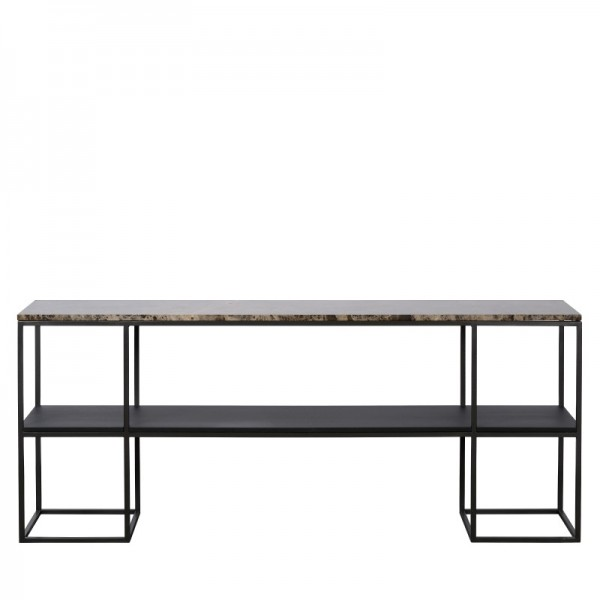 Charrell - CONSOLE MADISON 180/35 - MARBLE - 180 X 35 - H 75 CM (image 1)