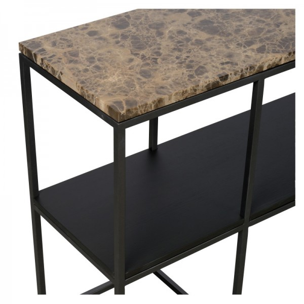 Charrell - CONSOLE MADISON 180/35 - MARBLE - 180 X 35 - H 75 CM (image 4)