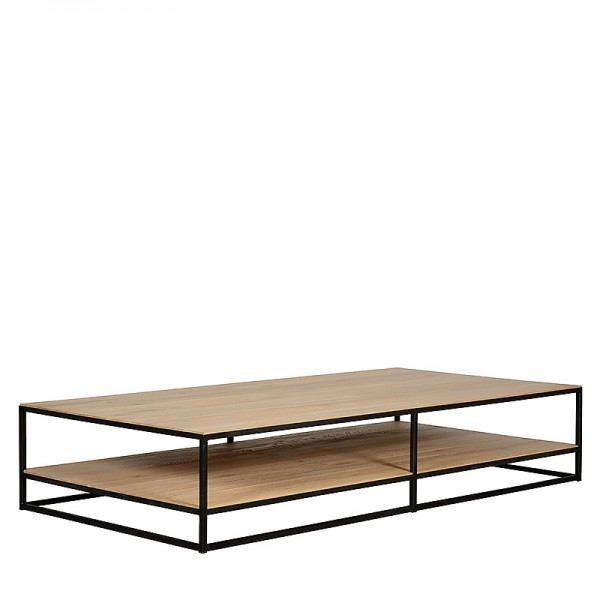 Charrell - COFFEE TABLE DOUBLE DECK 200/100 - 200 X 100 - H 38 CM (image 2)