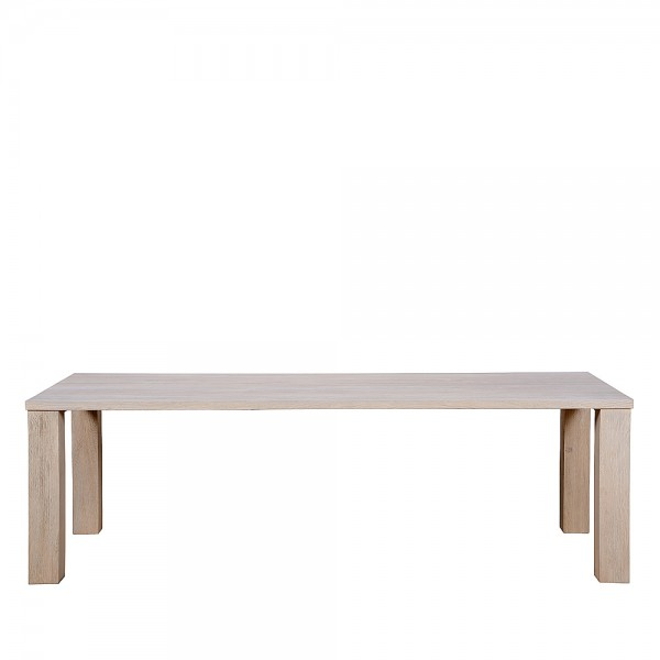Charrell - DINING TABLE MARCHWOOD 220/100 - 220 X 100 - H 76 CM (image 1)