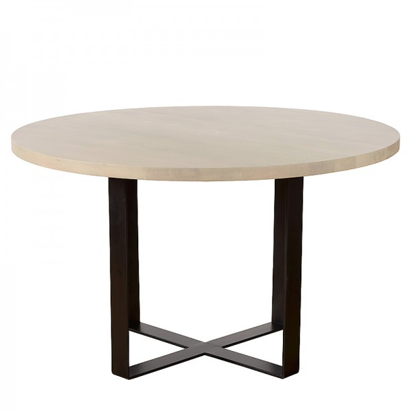 Charrell - DINING TABLE NESTOR 130 - DIA 130 - H 77 CM (image 1)