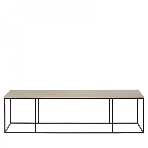 Charrell - COFFEE TABLE FERRUM FINE 140/40 - 140 X 40 - H 38 CM (image 1)