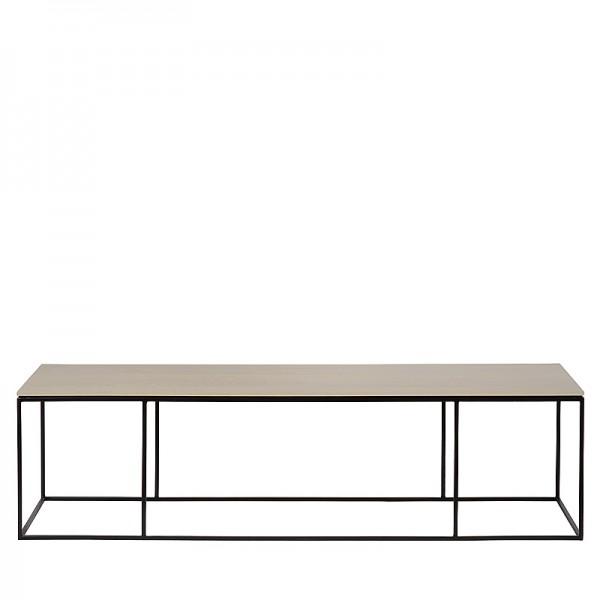 Charrell - COFFEE TABLE FERRUM FINE 140/40 - 140 X 40 - H 38 CM (image 1)