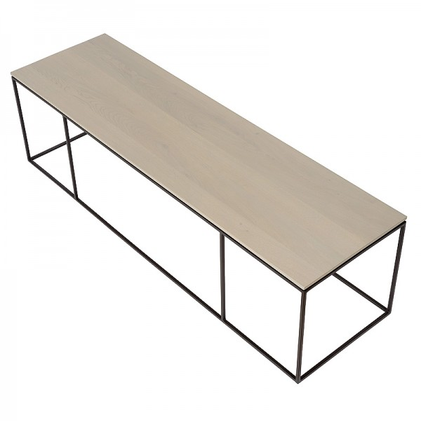 Charrell - COFFEE TABLE FERRUM FINE 140/40 - 140 X 40 - H 38 CM (image 3)