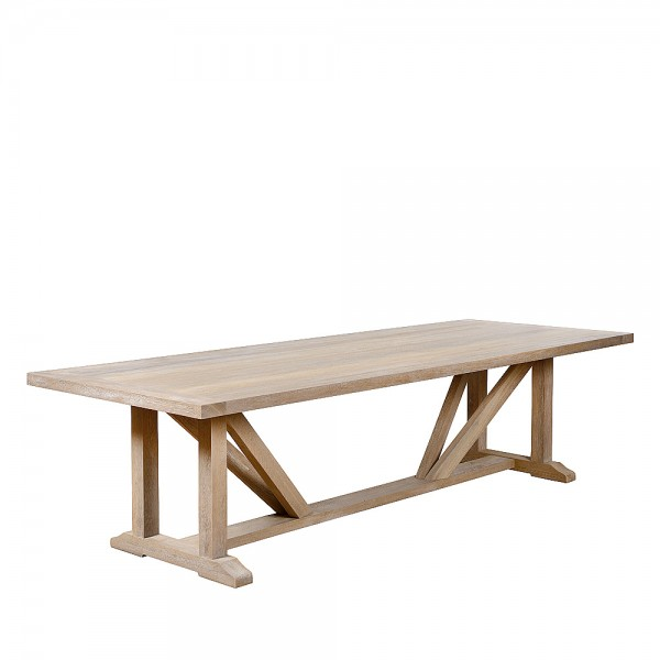 Charrell - DINING TABLE BEXHILL 300/110 - 300 X 110 - H 76 CM (image 2)