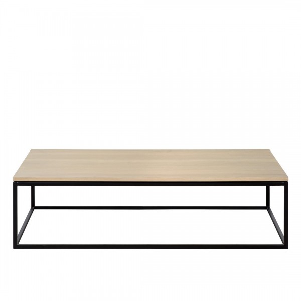 Charrell - COFFEE TABLE FERRUM 140/70 - SINGLE - 140 X 70 - H 38 CM (image 1)