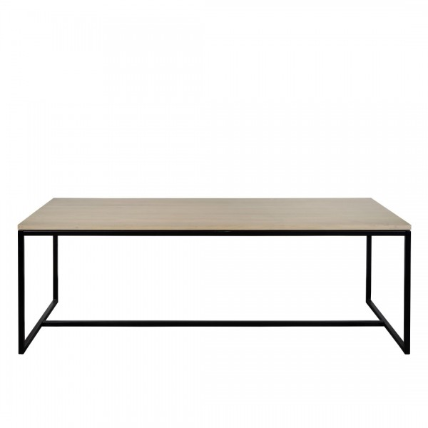 Charrell - DINING TABLE FERRUM 220/100 - 220 X 100 - H 76 CM (image 1)