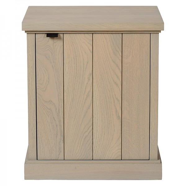 Charrell - NIGHT TABLE LANCASTER DOOR LEFT - 50 X 40 - H 58 CM (image 1)