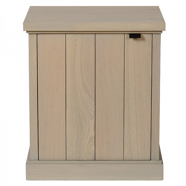 Charrell - NIGHT TABLE LANCASTER DOOR RIGHT - 50 X 40 - H 58 CM (image 1)