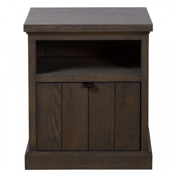 Charrell - NIGHT TABLE LANCASTER 1 DRAWER - 50 X 40 - H 58 CM (image 1)