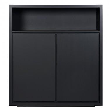 Charrell - CABINET LEXON LOW/OPEN - 125 X 45 H 140 CM