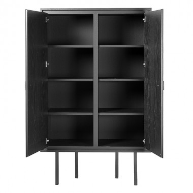 Charrell - CABINET DUNDEE 2P - 110 X 45 - H 180 CM