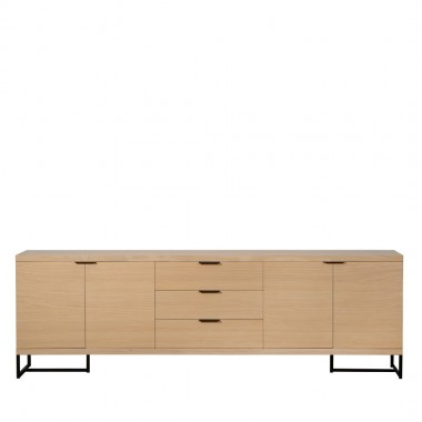 Charrell - SIDEBOARD MOXY 4D/3DR - 250 X 40 H 80 CM