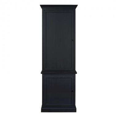 Charrell - BOOKCASE CORBY 80 - DOOR LEFT/RIGHT - 80 X 40 H 235 CM
