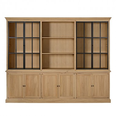 Charrell - CABINET CORBY 6 PARTS 290 - 290 X 51 - H 235 CM