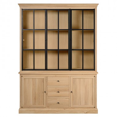 Charrell - CABINET CORBY 3 PARTS - 180 X 51 - H 235 CM