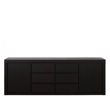 Charrell - SIDEBOARD METRO 235 - 2D/6DR - 235 X 50 - H 84 CM