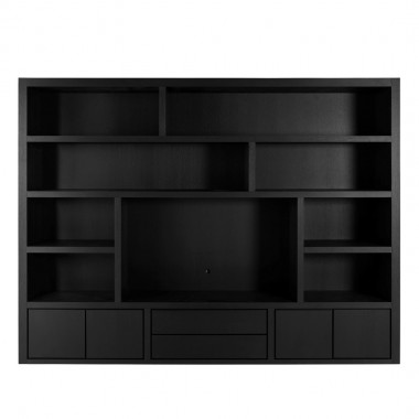 Charrell - TV CABINET METRO WALL 300 - 300 X 45 - H 230 CM