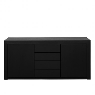 Charrell - SIDEBOARD METRO 180 - 2 DOORS/4 DRAWERS - 180 X 50 - H 84 CM