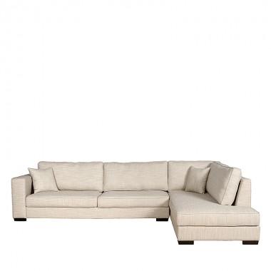 Charrell - SOFA ADISSON CORNER 338/230 - 338 X 98/230 H 79 CM