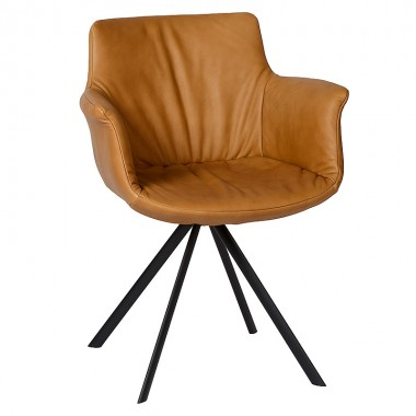 Charrell - ARMCHAIR ANTONIO TURNING - 61 X 59 - H 81 CM
