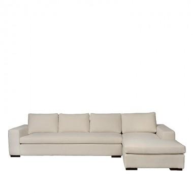 Charrell - SOFA APOLLO CORNER - NOA 110 DOVE - 338 X 103/210 - H 70 CM