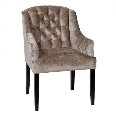 Charrell - ARMCHAIR ELENA WITH BUTTONS (A) - 60 x 65 - H 89 cm
