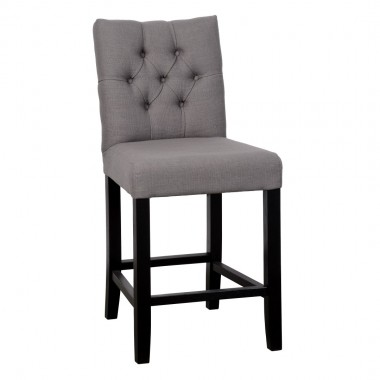 Charrell - CHAIR KRIS COUNTER WITH BUTTONS 65 (A) - 51 X 64 - H 105 CM