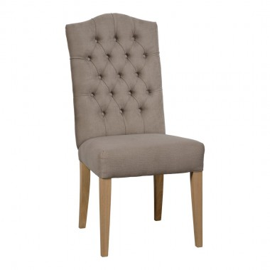 Charrell - CHAIR ARNAUD WITH BUTTONS (A) - 52 X 60 - H 104 CM