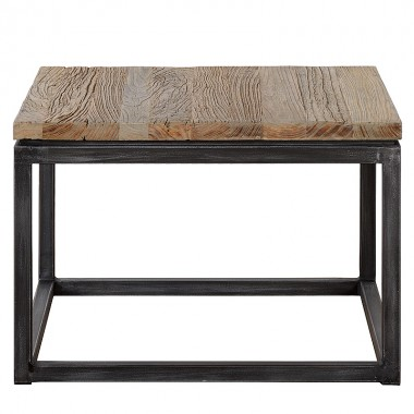 Charrell - SIDE TABLE VINTAGE - 65 X 65 - H 45 CM