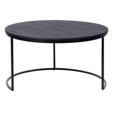 Charrell - COFFEE TABLE TODD - OPEN - DIA 80 - H 44 CM