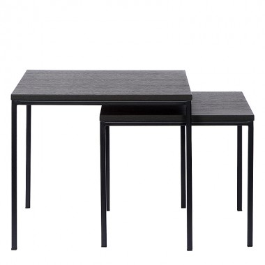 Charrell - SIDE TABLE DUO - 50X50H45/43X43H38 CM