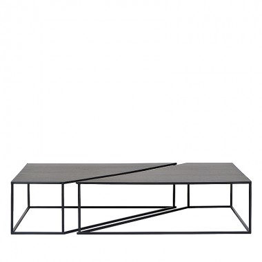 Charrell - COFFEE TABLE BRO S/2 - 150 X 100 H 35 CM
