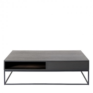 Charrell - COFFEE TABLE FLINN 130/130 - 2DR/OPEN - 130 X 130 H 38 CM